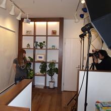 anuheaの店内での撮影